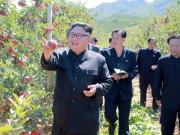 """Hoạt động đầu tiên của Kim Jong-un sau khi Trump dọa  """" hủy diệt """" ?"""