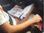 Hành khách hết hồn vì tài xế taxi không mặc quần