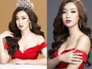 """Bị chê  """" lép """" , Hoa hậu Việt Nam tung ảnh trễ nải lộ vẻ đầy đặn"""