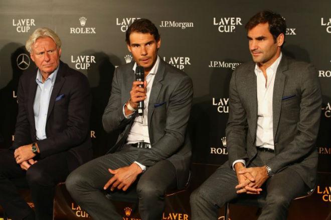 """Federer nóng lòng """"kết đôi"""" Nadal ở Laver Cup: Tiết lộ lý do bất ngờ 1"""