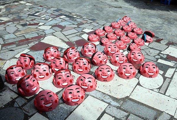 Làng làm đồ chơi trung thu ở Hưng Yên tất bật vào mùa - 11
