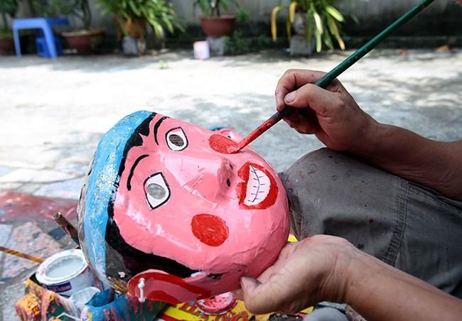 Làng làm đồ chơi trung thu ở Hưng Yên tất bật vào mùa - 2