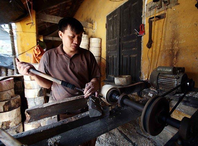 Làng làm đồ chơi trung thu ở Hưng Yên tất bật vào mùa - 8
