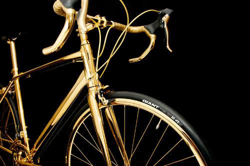Choáng ngợp xe đạp mạ vàng 24K giá 7,7 tỷ đồng - 2