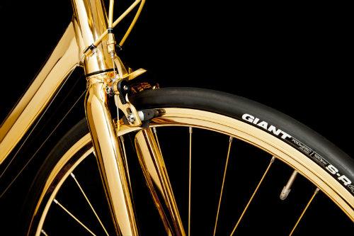 Choáng ngợp xe đạp mạ vàng 24K giá 7,7 tỷ đồng - 3