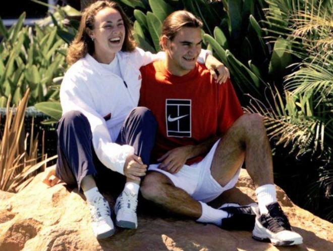 """Federer 20 năm trước: Đàn chị """"đưa vào đời"""", hạng 803 thế giới 2"""