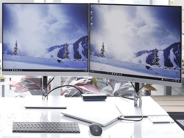 HP tung dòng máy tính để bàn AIO với tùy chọn màn hình cong, 4K - 2