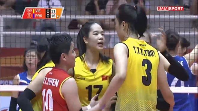 Bóng chuyền nữ Việt Nam - Triều Tiên: Đối thủ đáng gờm (Vòng loại World Cup) 1