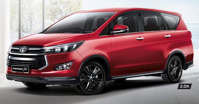 Toyota giới thiệu Innova phiên bản 2.0X cao cấp