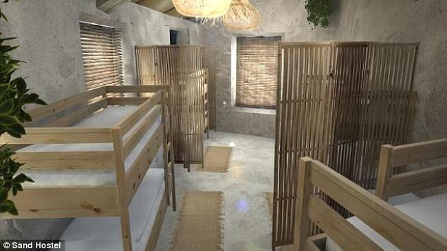 Ngỡ ngàng khách sạn xây toàn bằng cát ở Australia - 6