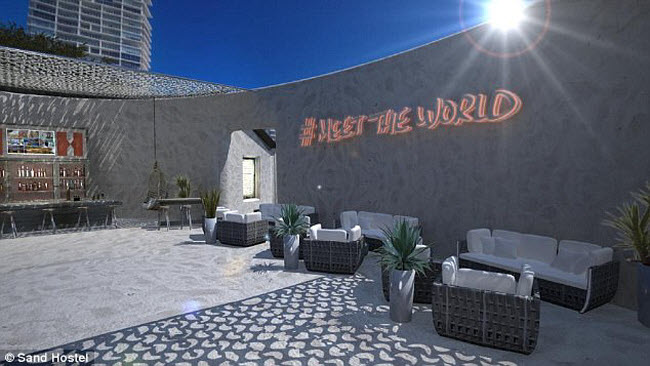 Ngỡ ngàng khách sạn xây toàn bằng cát ở Australia - 4