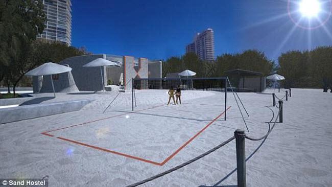 Ngỡ ngàng khách sạn xây toàn bằng cát ở Australia - 11