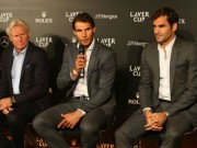 """Federer nóng lòng  """" kết đôi """"  Nadal ở Laver Cup: Tiết lộ lý do bất ngờ"""