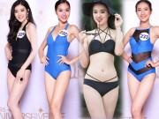 Lộ diện 10 cô gái nuột nà nhất Bán kết Hoa hậu Hoàn vũ Việt Nam