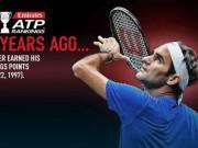 """Federer 20 năm trước: Đàn chị  """" đưa vào đời """" , hạng 803 thế giới"""