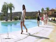 Chết cười xem tai nạn của người đẹp thi Hoa hậu Tây Ban Nha