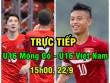 """Chi tiết U16 Mông Cổ - U16 Việt Nam: 9 bàn thắng  """" hủy diệt """"  (KT)"""