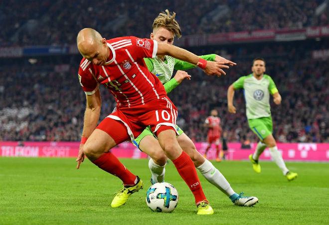 Bayern Munich - Wolfsburg: Điên rồ màn ngược dòng mãn nhãn