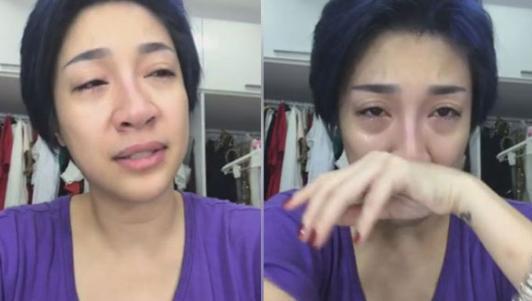 Pha Lê khóc nức nở livestream vì bị cướp 60 triệu và giấy tờ trước ngày đi Mỹ
