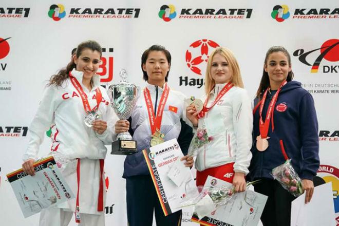 Nhà vô địch karatedo thế giới mơ làm diễn viên 1