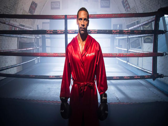 """Học """"thần thủ"""" Mayweather, Rio Ferdinand luyện chiêu boxing độc 2"""