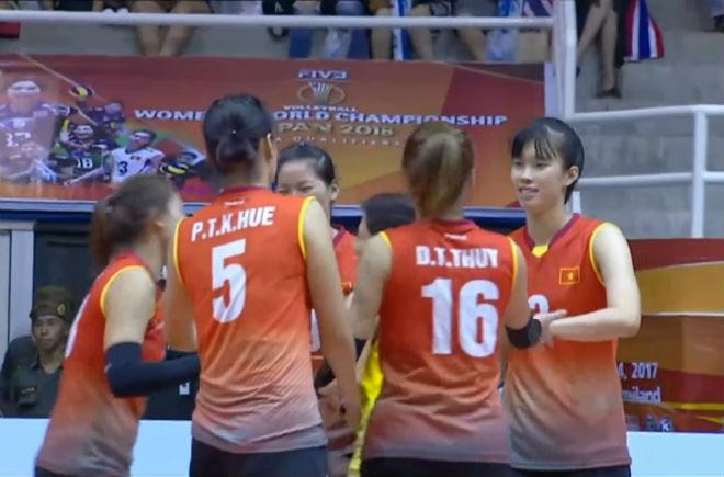 Bóng chuyền nữ Việt Nam - Hàn Quốc: Nỗ lực hết mình, đôi công mãn nhãn (Vòng loại World Cup) 1