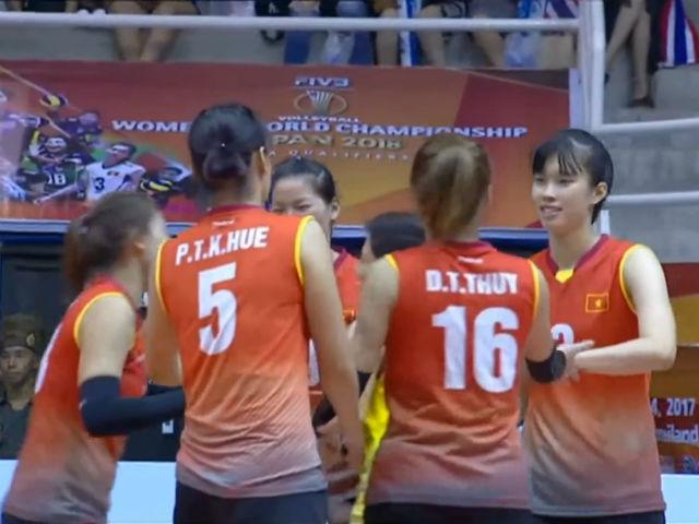 TRỰC TIẾP bóng chuyền nữ Việt Nam - Iran: Vớt vát danh dự 3