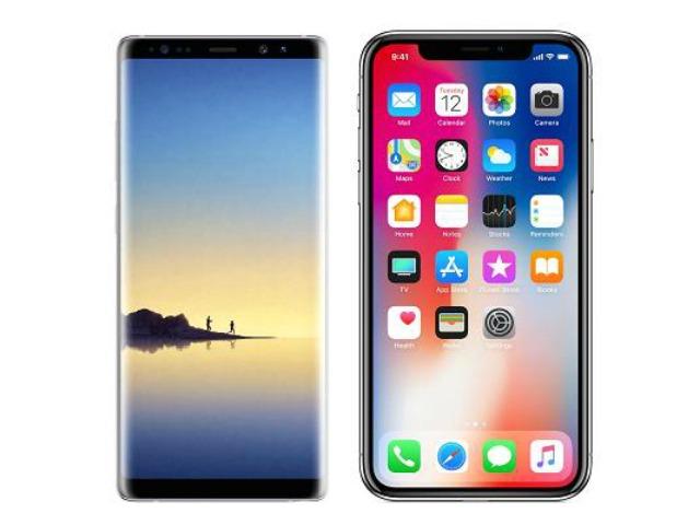 Chọn Galaxy Note 8 hay iPhone X?