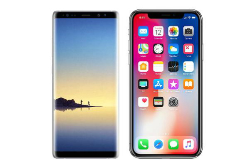 Chọn Galaxy Note 8 hay iPhone X? - 1