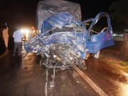 Tai nạn liên hoàn trên đường Hồ Chí Minh, hàng chục người gặp nạn