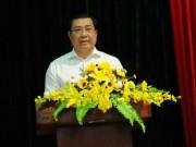 """Chủ tịch Đà Nẵng Huỳnh Đức Thơ:  """" Đừng lo chuyện ông mô đi, ông mô ở """""""