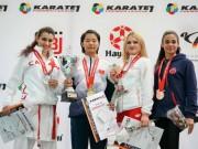 Nhà vô địch karatedo thế giới mơ làm diễn viên