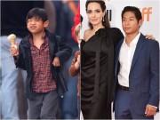 """Quý tử gốc Việt nhà Angelina Jolie  """" trổ giò """" , phổng phao chóng mặt"""