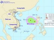 Áp thấp nhiệt đới giật cấp 8 trên Biển Đông, hướng vào nước ta