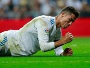 """Ronaldo sút 6 vào 0: Ác mộng cột dọc  &  thảm họa  """" chân gỗ """""""