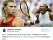 Sharapova đả động  chuyện tế nhị , Serena xỉa xói đáp trả