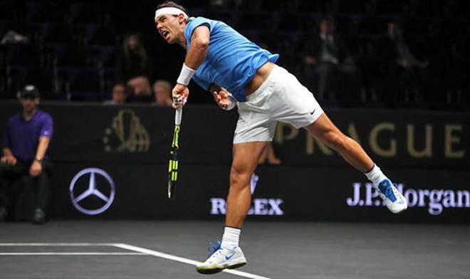 """Laver Cup: Federer & Nadal """"song kiếm hợp bích"""" vẫn thắng nhọc 2"""