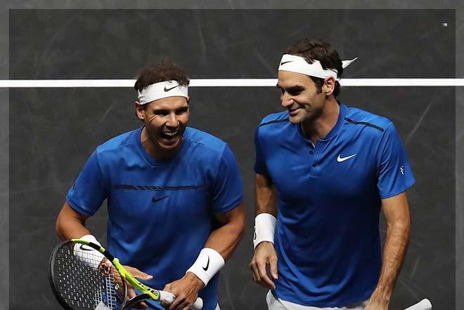 """Laver Cup: Federer & Nadal """"song kiếm hợp bích"""" vẫn thắng nhọc 1"""