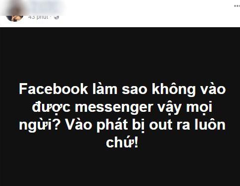Cách sửa lỗi không dùng được Facebook Messenger trên iOS - 1