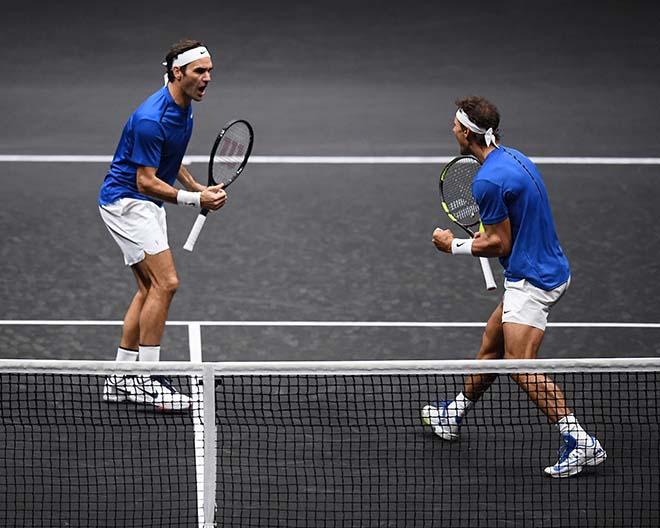 """Federer đánh đôi với Nadal: Khi """"Messi - Ronaldo"""" song tấu 1"""