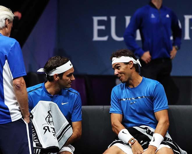 """Federer đánh đôi với Nadal: Khi """"Messi - Ronaldo"""" song tấu 2"""
