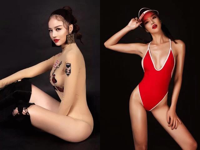 """Áo tắm """"mặc như không"""" của Hoa hậu Việt úp mở lấy đại gia HOT nhất tuần"""