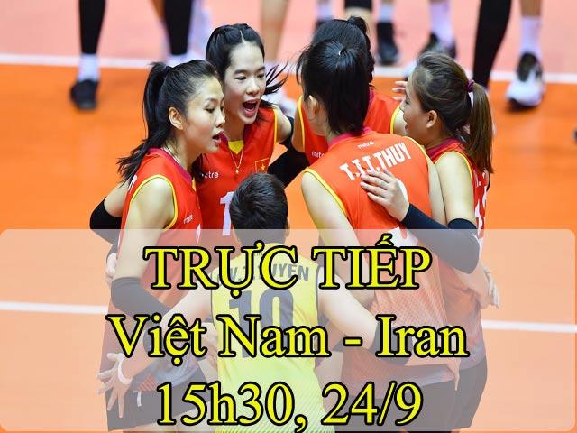 Bóng chuyền nữ Việt Nam - Iran: Khởi đầu chậm chạp, hạ màn tưng bừng (Vòng loại World Cup) 2