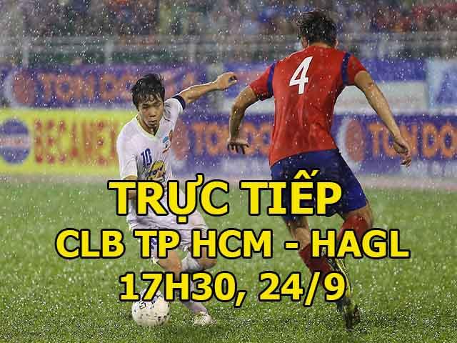 TRỰC TIẾP CLB TPHCM - HAGL: Công Phượng, Văn Thanh suýt làm nên chuyện