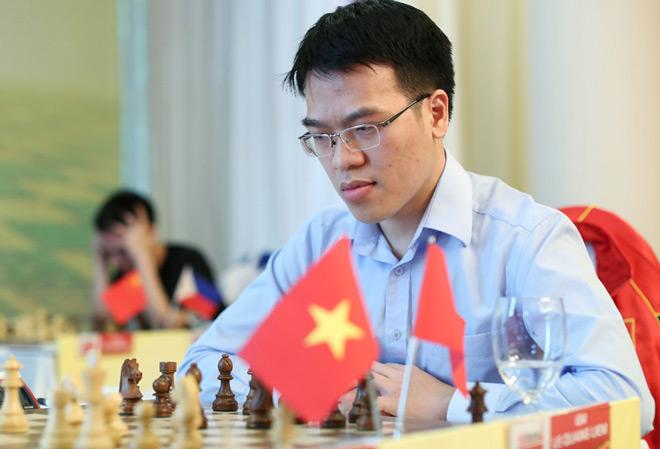 Quang Liêm vượt kì thủ Trung Quốc, giành HCV lịch sử giải châu Á 1