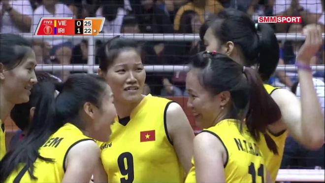 Bóng chuyền nữ Việt Nam - Iran: Khởi đầu chậm chạp, hạ màn tưng bừng (Vòng loại World Cup) 1