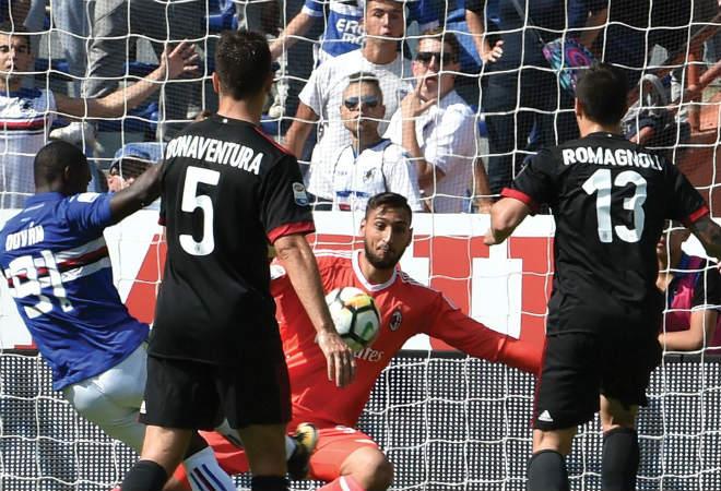 Video, kết quả bóng đá Sampdoria - Milan: 20 phút, 2 cú đấm choáng váng - 1