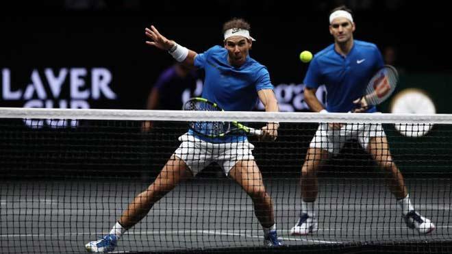 Laver Cup: Đội nhà vô địch sớm, Federer và Nadal thoải mái phô diễn 1