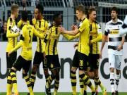 "Dortmund - Gladbach:  "" Hủy diệt ""  bằng set tennis"