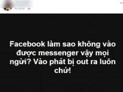 Cách sửa lỗi không dùng được Facebook Messenger trên iOS